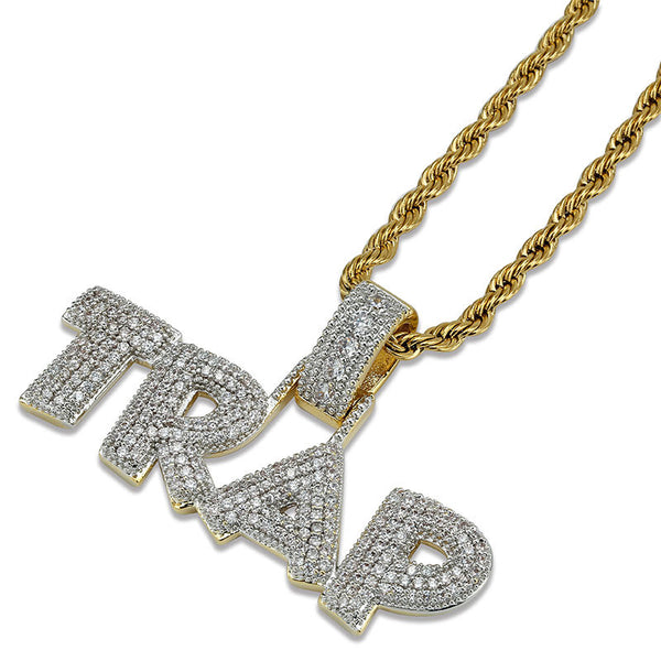 Iced Out Trap Necklacce
