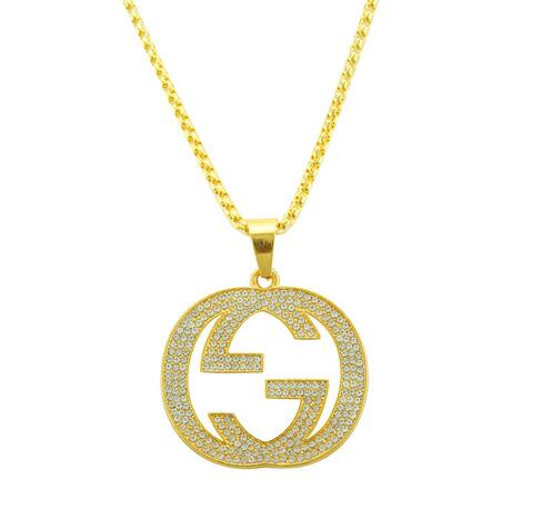 Gold Gucci Pendant Necklace