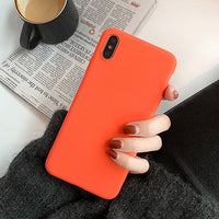Vibrant Orange Phone Case