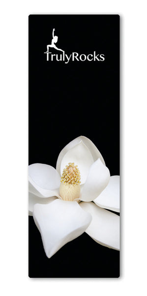 TrulyRocks White Orchid Yoga Mat - TrulyRocks