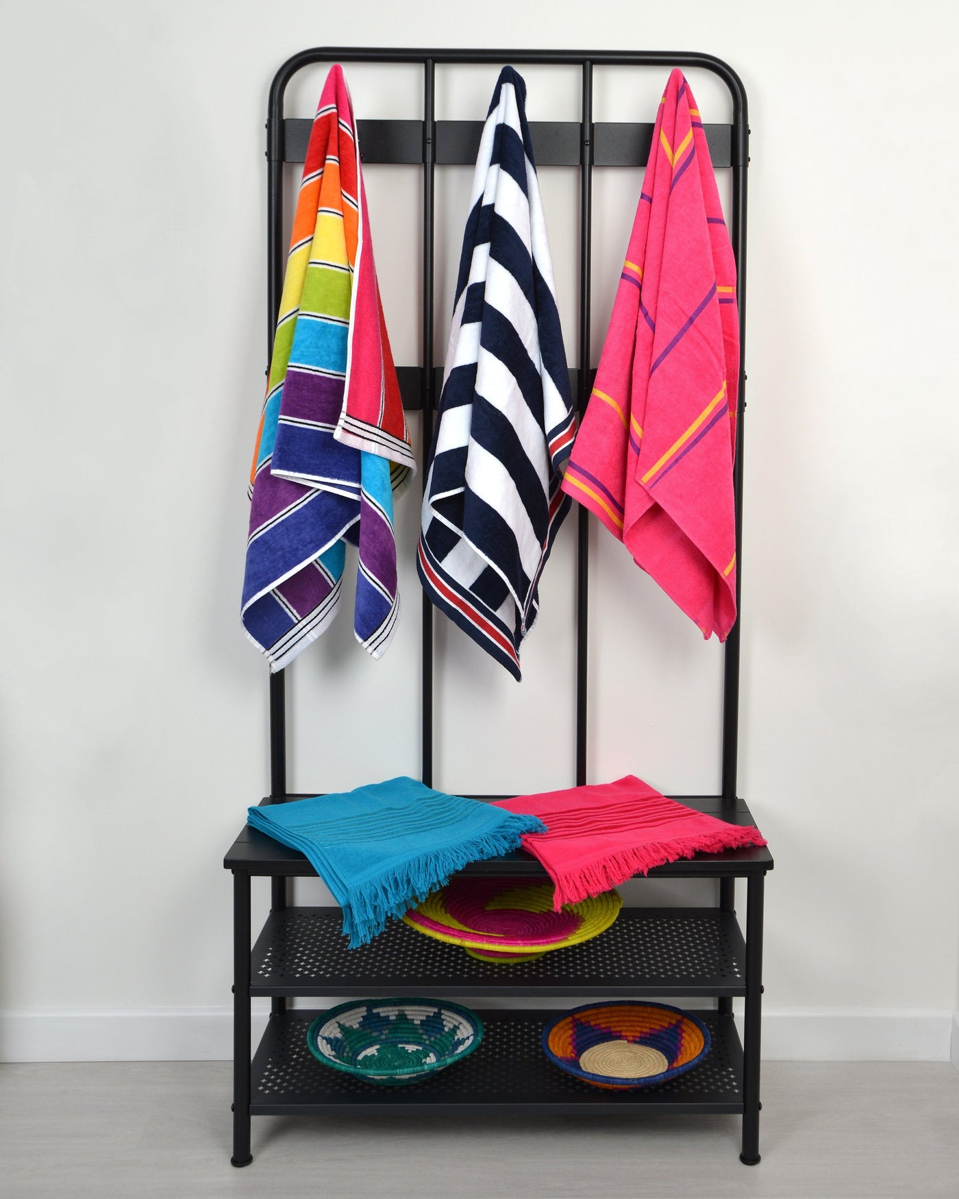 Beach Towels - Striped & Colourful