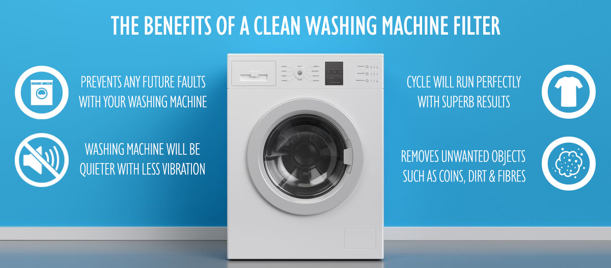 The benefits of a clean washing machine filter