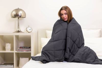 Slumber Weighted Blanket for Sleep, Stress and Anxiety - Allure Bath Fashions