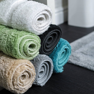 Marlborough Bamboo Cotton Bath Mat - Allure Bath Fashions