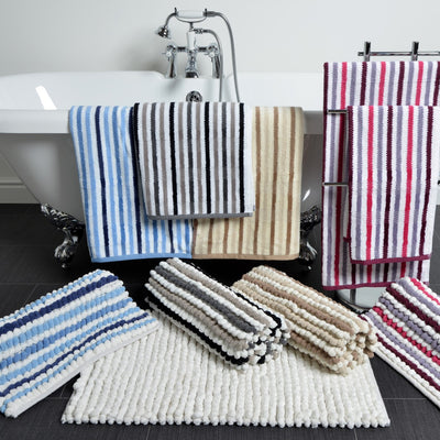 California Chunky Bobble Plain Bath Mat - Allure Bath Fashions