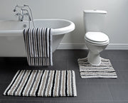 California Stripe Pedestal Mat - Allure Bath Fashions
