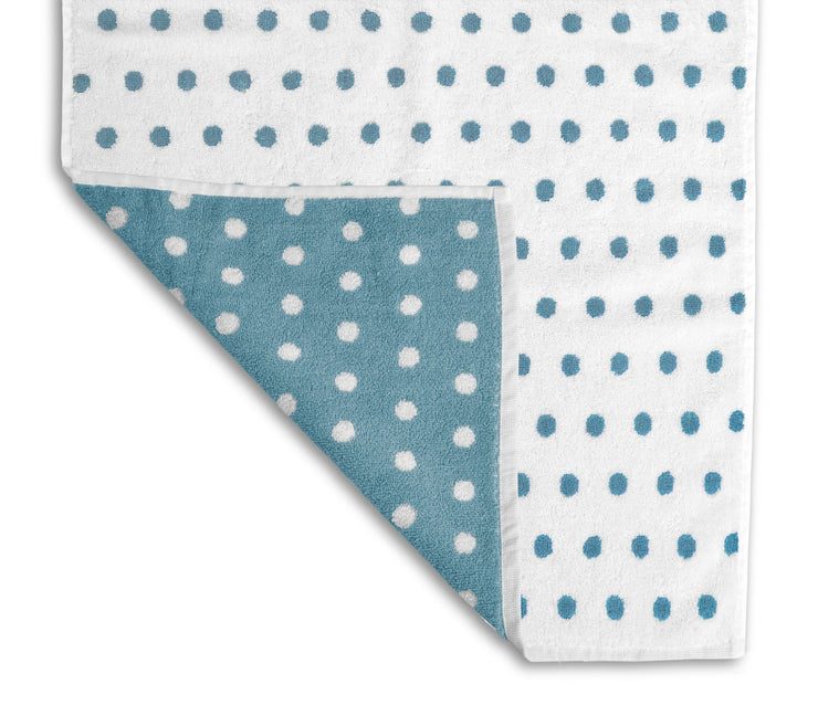 Cotton Bath Towels in Bold Stripe & Spot Design - Allure Bath Fashions