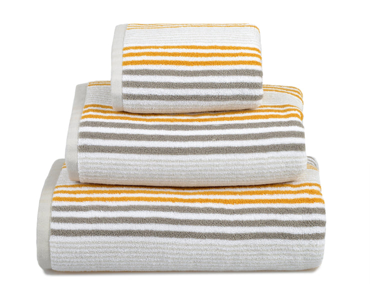 Merlin Stripe Towels - Allure Bath Fashions