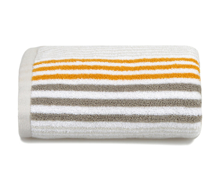 Merlin Cotton Striped Towels - Allure Bath Fashions