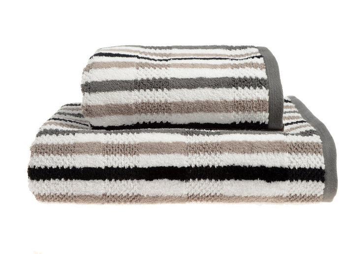 California Striped Towels - Allure Bath Fashions
