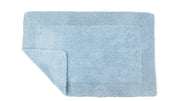 Elegance Cotton Reversible Large Bath Mat Baby Blue