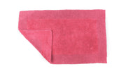Elegance Cotton Reversible Large Bath Mat Hot Pink