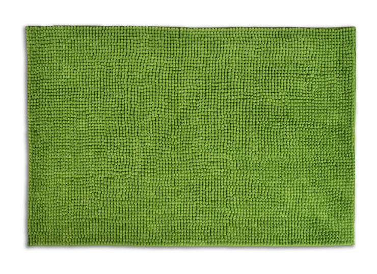 Chenille Bath Mat Supersoft Microfibre & Non-Slip - Allure Bath Fashions