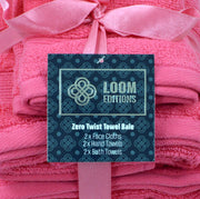 Zero Twist Towel Bale - 6 Pack - Allure Bath Fashions