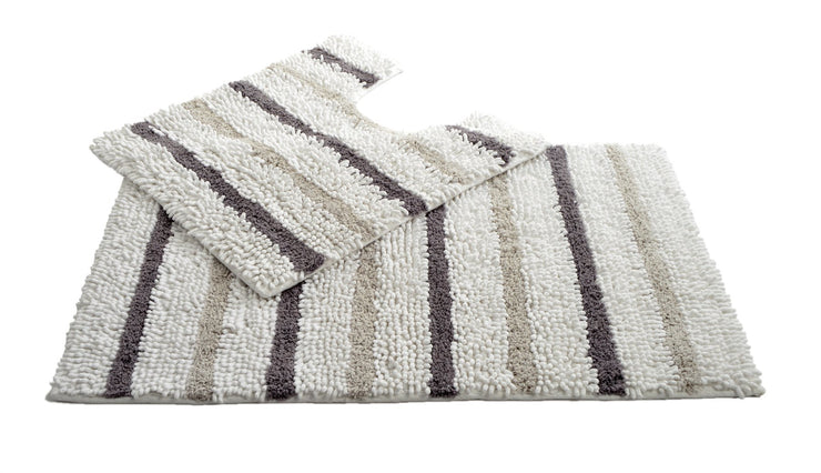 Juno Chenille Bath and Pedestal Mat Set