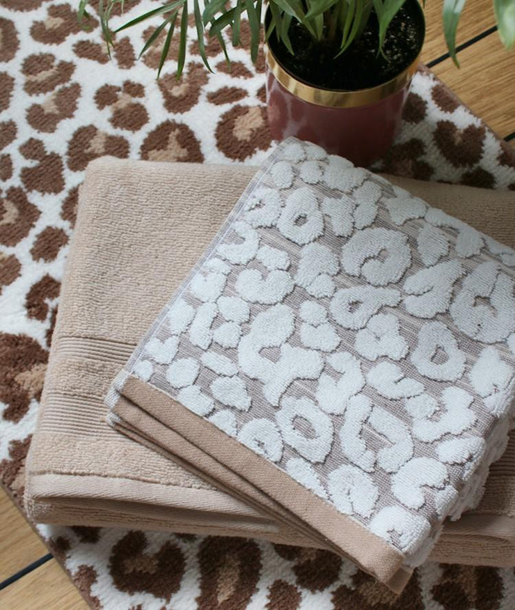 Leopard Towels in Luxury Cotton - Allure Bath Fashions