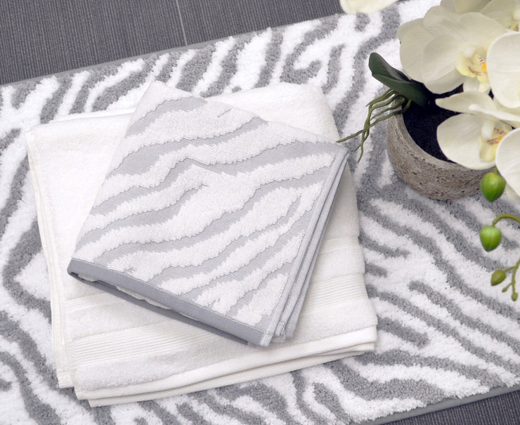 Zebra Towels in Luxury Cotton