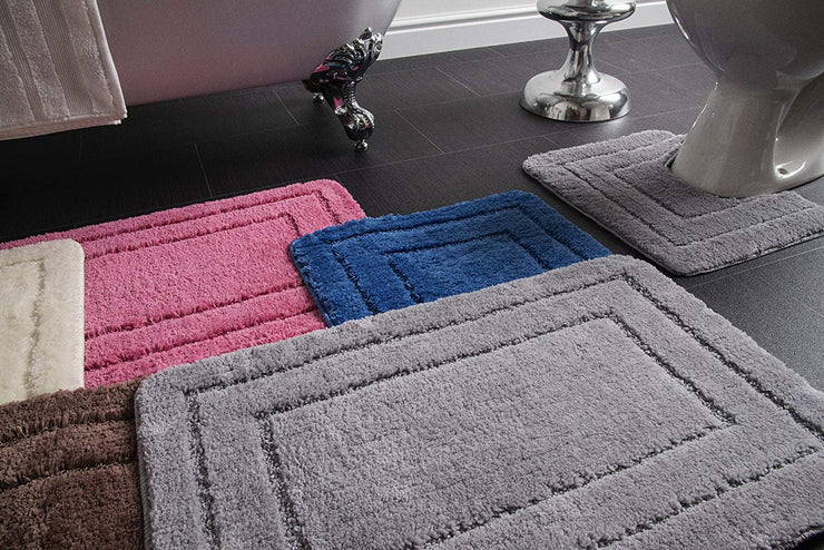 Lisa Bath and Pedestal Mat Set - Allure Bath Fashions