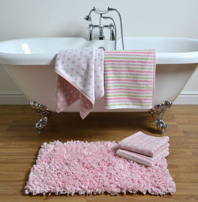 Stripe & Spot 4 Pack Towel Bales - Allure Bath Fashions