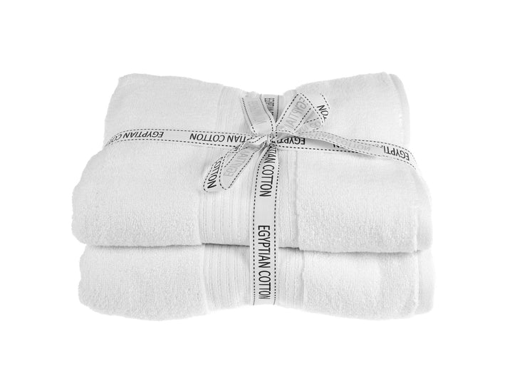 Spa Luxury Egyptian Cotton Bath Towel Set (2 Pack) - Allure Bath Fashions