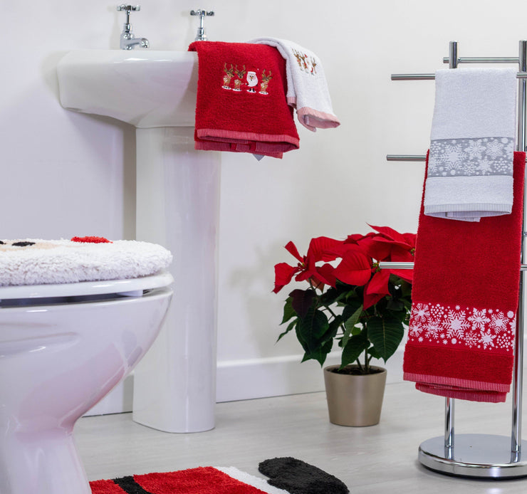 Christmas Towels - 2 Pack - Allure Bath Fashions
