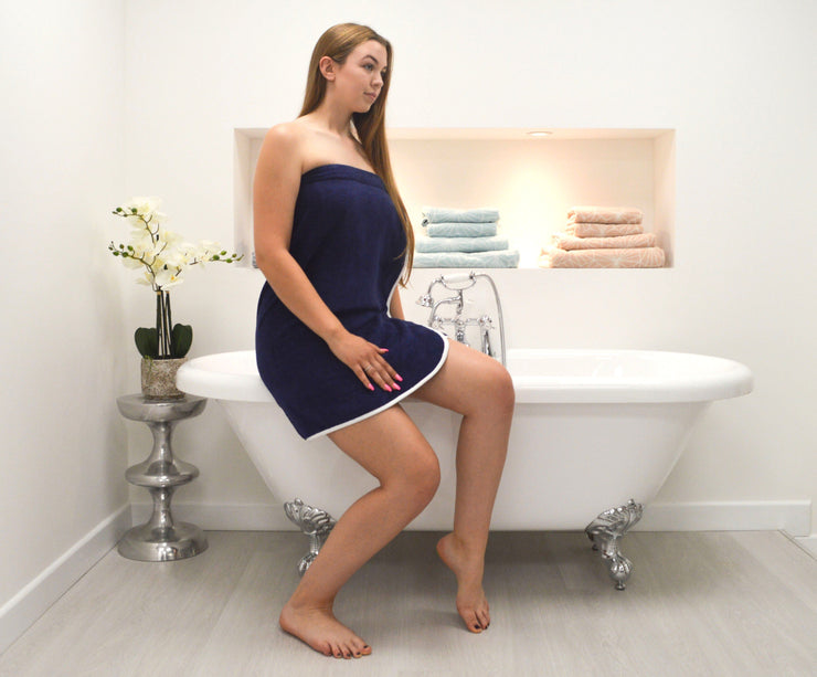 Ladies Shower Wrap - Allure Bath Fashions