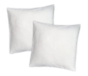 Hotel Waffle Cushion Covers - Two Pack