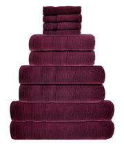 zero twist 10 pack towel bale in beetroot