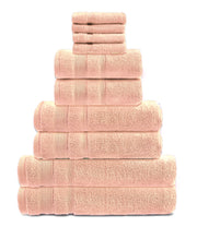 zero twist 10 pack towel bale in blush
