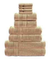 zero twist 10 pack towel bale in stone