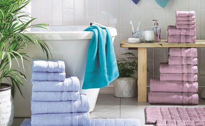 Zero Twist Egyptian Cotton Towels - Allure Bath Fashions