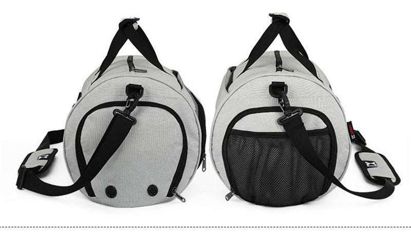 Premium Sports Bag With Independent Shoe Storage