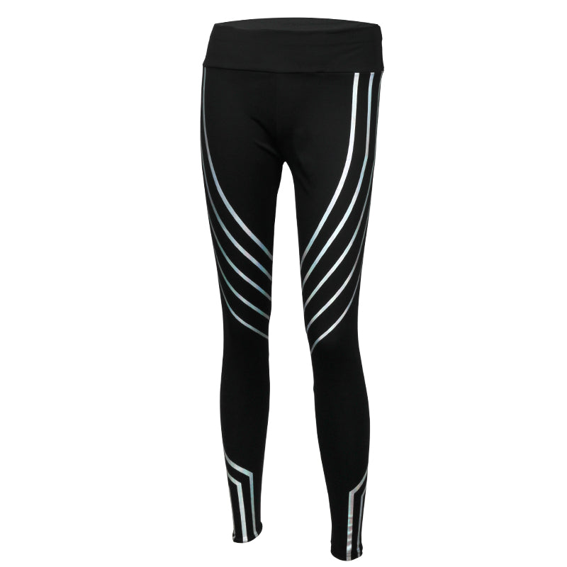 Breathable Slim Conventional Reflective Leggings