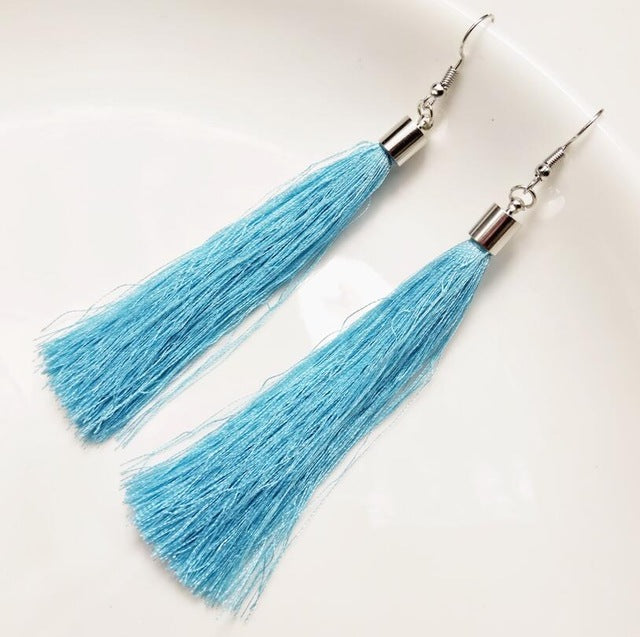 Contemporary Tassel Earrings