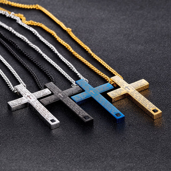 Crafted Cross Pendant