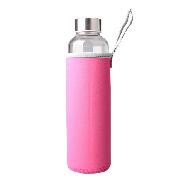 Hydrate High Quality Glass Drinking Bottle