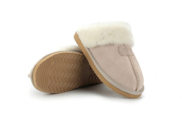 Melanie Genuine Leather Slippers