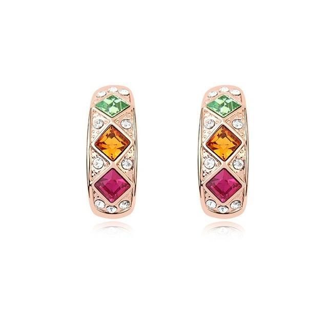 Must-have Earrings with Swarovski Crystals