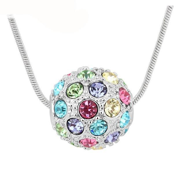 Sparkle Bead Pendant Necklace