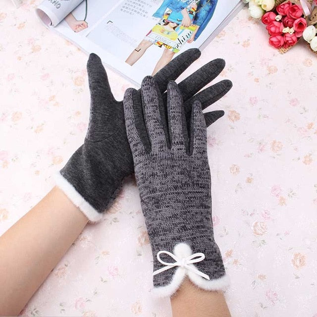 Keep Warm Elegant Gloves