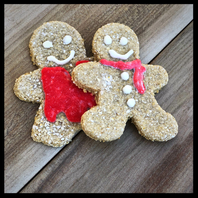 Gingerbread Boy & Girl Biskies