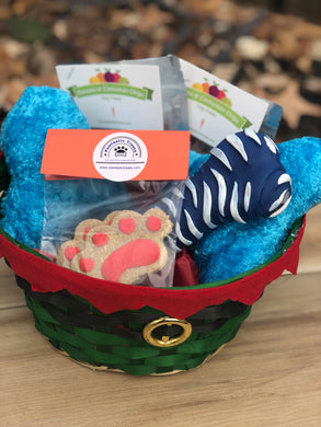 Pawtastic Holiday Basket