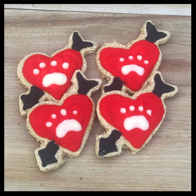 Cupid Heart Valentine Biskies
