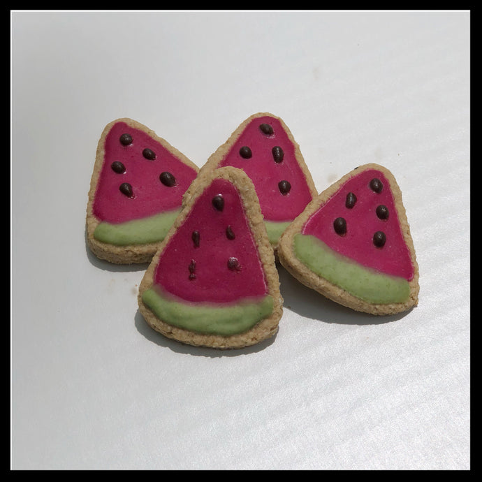 Mini Watermelon Slices Biskies