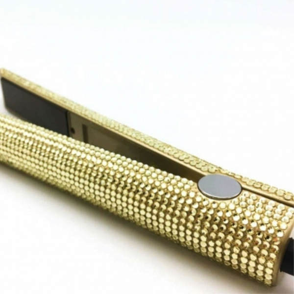 24K Bling Flat Iron - The Extension Gallery