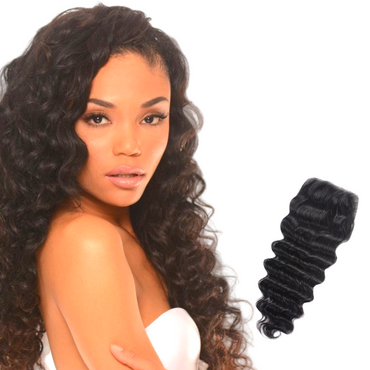 NEW HD 4X4 LACE LOOSE WAVE CLOSURE WIG - The Extension Gallery