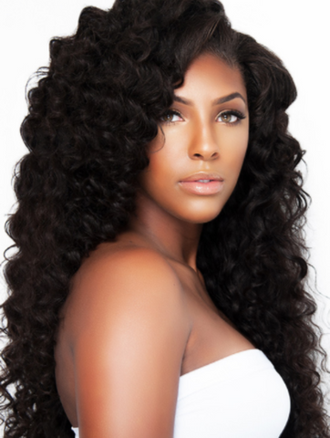 LUXURIOUS LOOSE CURL GLUELESS LACE WIG