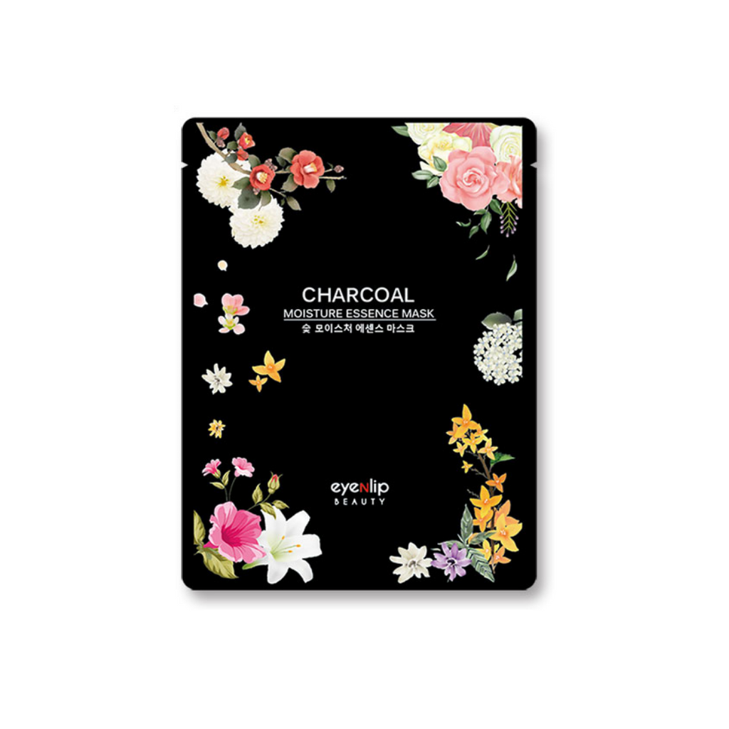 Eyenlip - Moisture Essence Mask Sheet Charcoal