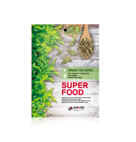 Eyenlip - Superfood Sheet Mask Green Tea