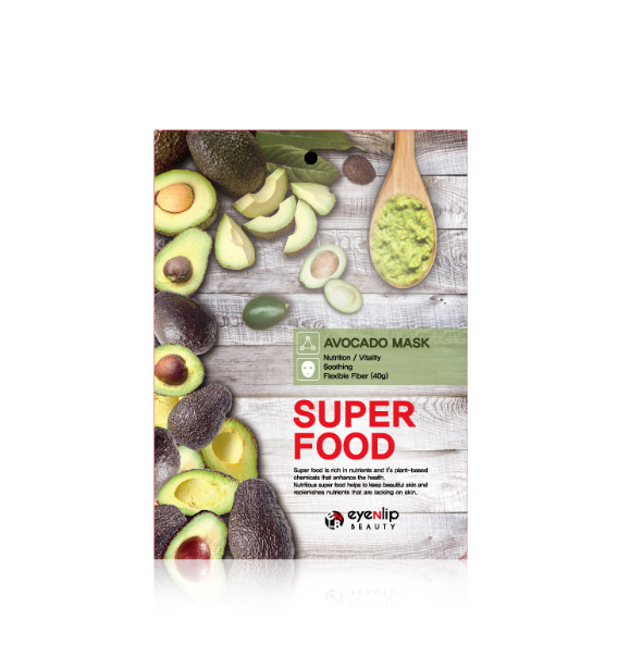 Eyenlip - Superfood Sheet Mask Avocado